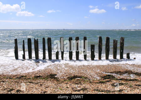 Clarence Esplanade, Southsea, Portsmouth, Hampshire, England, Great Britain, United Kingdom, UK, Europe - Stock Photo