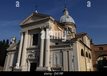 Chiesa di San Rocco all'Augusteo, rome, italy - Stock Photo