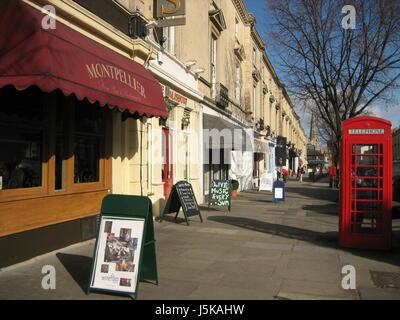 montpellier district in cheltenham,uk i - Stock Photo
