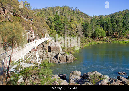 First Basin in Cataract Gorge - Stock Photo