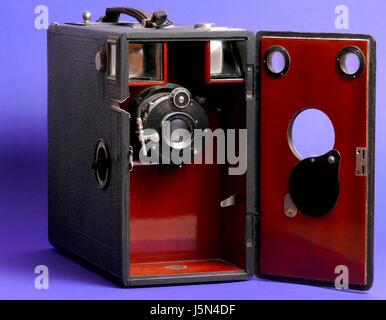 nostalgic camera camera - Stock Photo