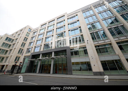 Rolls Building is a court complex in the City of London that is used by the High Court of Justice (one of the Senior - Stock Photo
