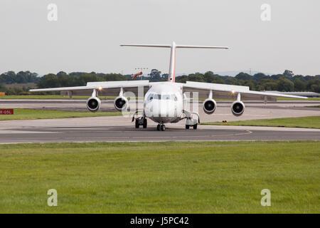 BAE Systems Avro 146-RJ100 - Stock Photo