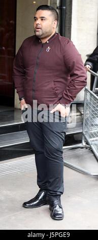 London, UK. 18th May, 2017. Pic shows:  Shahid Khan, known by his stage name Naughty Boy, is an English DJ, record - Stock Photo