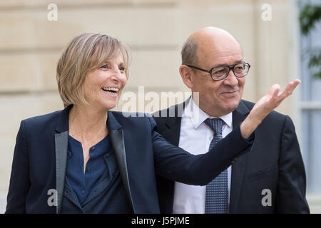 Paris, France. 18th May, 2017. Julien Mattia / Le Pictorium -  First Council of Ministers of the Government of Edouard - Stock Photo