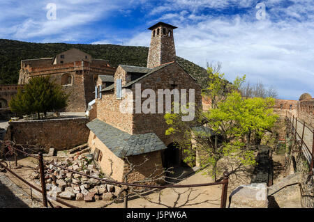 France, Pyrenees Orientales, Villefranche de Conflent, labelled Les Plus Beaux Villages de France ( Most beautiful - Stock Photo