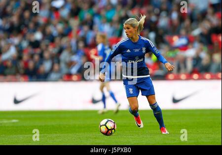 Norwegian midfielder Andrine Hegerberg of Birmingham City midfielder during the SSE Women's FA Cup Final match between - Stock Photo