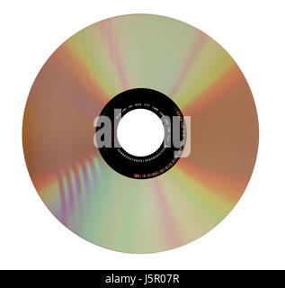 optional medium store dvd CD burn cd-r cd-rw disc copieren - Stock Photo