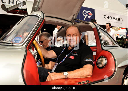 Brescia, Italy. 18th May, 2017. Jochen Mass on 1000 miglia village Credit: Gaetano Piazzolla/Pacific Press/Alamy - Stock Photo