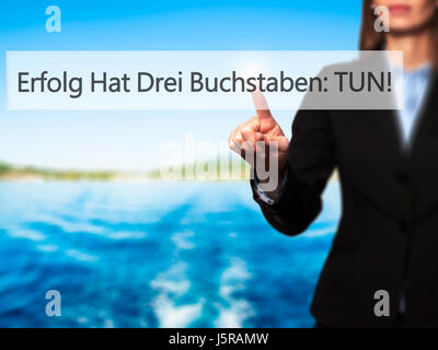 erfolg hat drei buchstaben tun success has three letters do in stock photo royalty free. Black Bedroom Furniture Sets. Home Design Ideas