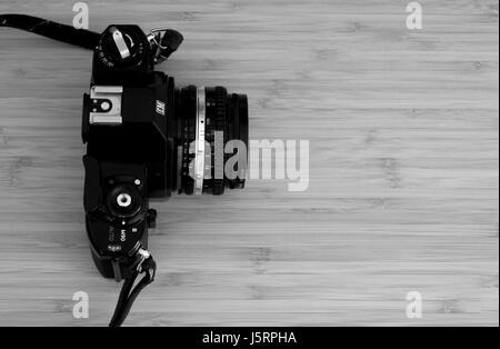 Analogue Camera (dusty) - Stock Photo