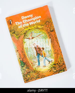 Danny The Champion of the World by Roald Dahl - Stock Photo