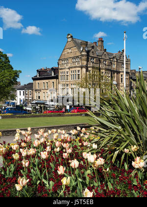 Bettys Cafe Tea Rooms at 1 Parliament Street in Harrogate North Yorkshire England - Stock Photo