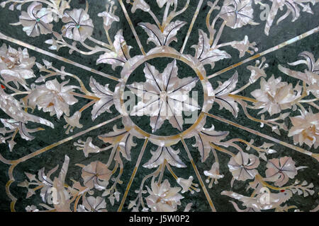 traditional colorful floral marble tabletops for sale in agra uttar pradesh india on february