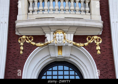 Ivan Vazov National Theatre in Sofia - Stock Photo