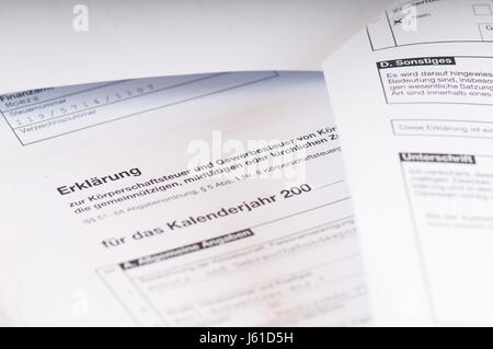 steer state charges tax office tax return tributes taxes finances national - Stock Photo
