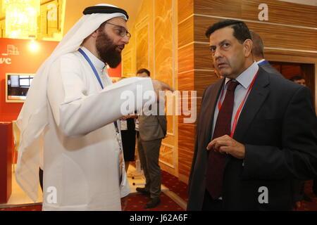 "Kazan, Russia. 19th May, 2017. Participants in the 9th International Economic Summit titled ""Russia — Islamic World: - Stock Photo"