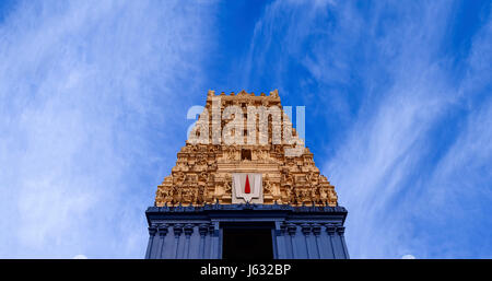 Simhadri or Simhachalam is a Hindu temple located in Visakhapatnam city suburb of Simhachalam in Andhra Pradesh, - Stock Photo