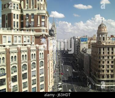 city town townscape sight view outlook perspective vista panorama lookout city - Stock Photo