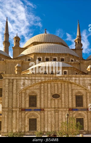 mohammed ali mosque in cairo - Stock Photo