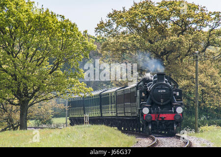 Isle of Wight Steam Railway - Stock Photo