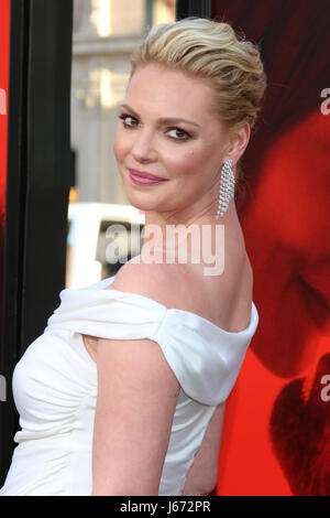 Premiere of 'Unforgettable' at TCL Chinese Theater IMAX - Arrivals  Featuring: Katherine Heigl Where: Los Angeles, - Stock Photo
