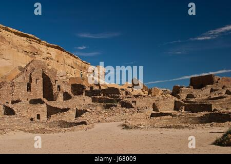 historical monument desert wasteland landscape scenery countryside nature - Stock Photo