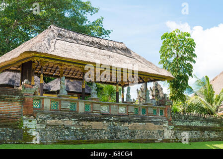 bali, indonesia - april 30, 2017 : pura taman ayun is a compound