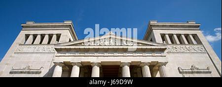 the munich propylaea - Stock Photo