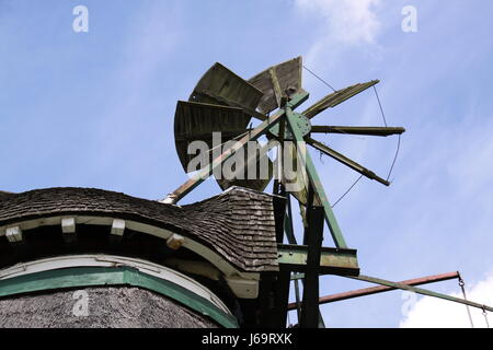 pinwheel in a mill close - Stock Photo