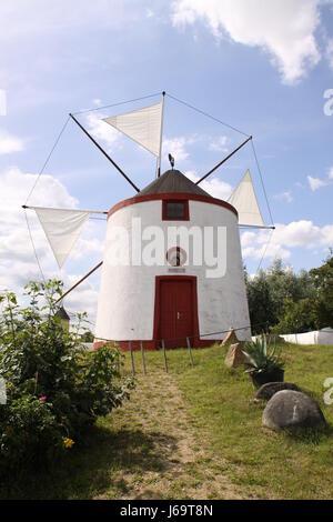 spanish windmill - Stock Photo