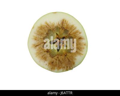 rotting apple - Stock Photo