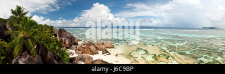 La Digue Island, Seychelles - Stock Photo