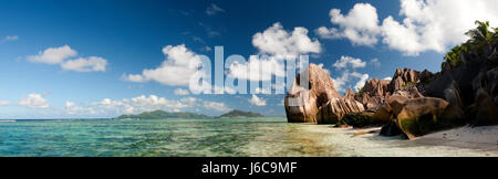 La Digue Island, Seychelles - Stock Photo