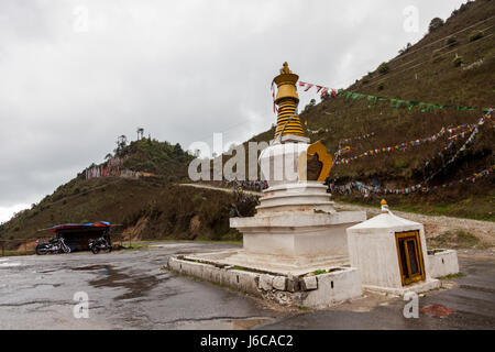 Pelela, Trongsa, Bhutan - Stock Photo