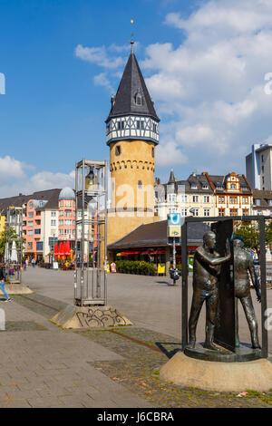 Bockenheimer Warte, Frankfurt, Germany. May 2017. - Stock Photo
