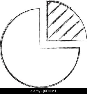 pie chart icon  - Stock Photo