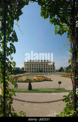 schonbrunn palace,vienna - Stock Photo