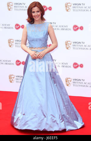 May 14, 2017 - Amy Nuttall attending Virgin TV BAFTA Television Awards 2017 at The Royal Festival Hall in London, - Stock Photo