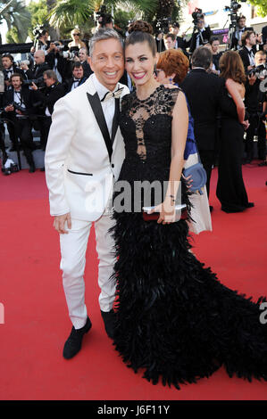 70th Cannes Film Festival 2017, Red Carpet film '120 Beats Per Minute (120 Battements Par Minute)' Pictured : Gianluca - Stock Photo