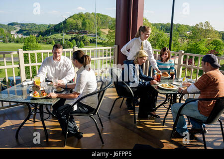 Tennessee Sevierville Kodak Chop House restaurant - Stock Photo
