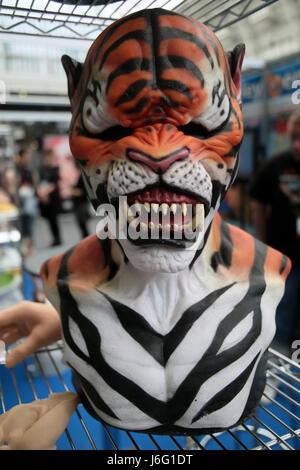London, UK. 21st May, 2017. IMATs London second day in London, Make Up Artist Magazine and Olympia London staging - Stock Photo