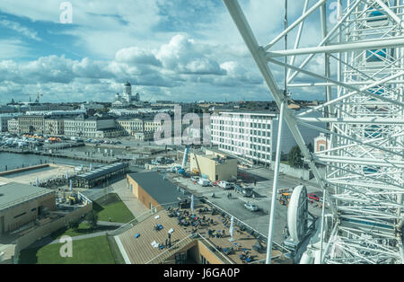 View of Helsinki Finland - Stock Photo