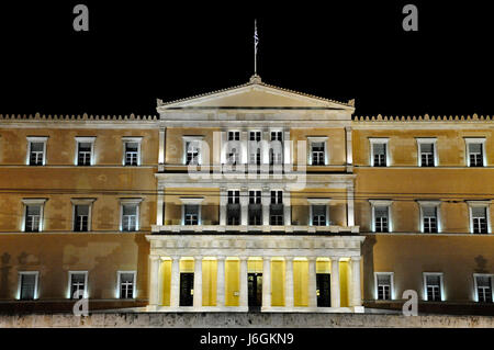 seat of government in athens - Stock Photo