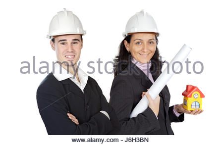 woman helmet man team woman humans human beings people folk persons human human - Stock Photo