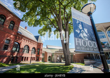 The Hood Museum at Dartmouth College in Hanover, New Hampshire - Stock Photo
