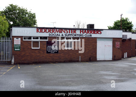 Kidderminster Harriers supporters club house, Worcestershire, England, UK - Stock Photo