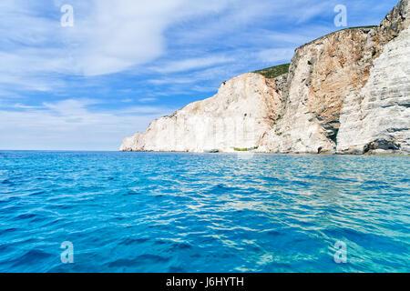 Beautiful lanscape of Zakinthos island - Stock Photo