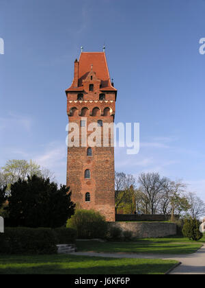 chapter tower tangermuende - Stock Photo