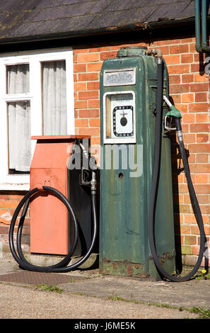 Diesel Gas Stations Near Me >> Vintage gas pump at petrol station of the General Store ...